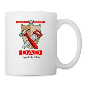 World's Greatest Dad Ceramic Coffee Mug - Coffee/Tea Mug