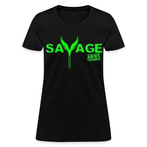 SavageArmy Logo Tee - Women's T-Shirt