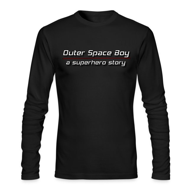 Outer Space Boy | Men's Long Sleeve T-Shirt by Next Level