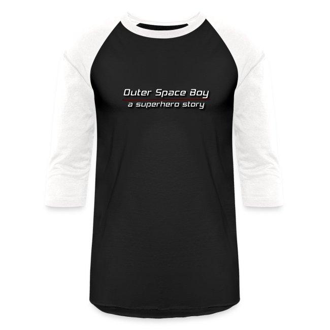 Outer Space Boy | Baseball T-Shirt