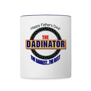 The Dadinator Contrast Coffee Mug - Contrast Coffee Mug