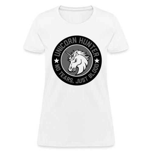 Women Unicorn Hunter - Women's T-Shirt