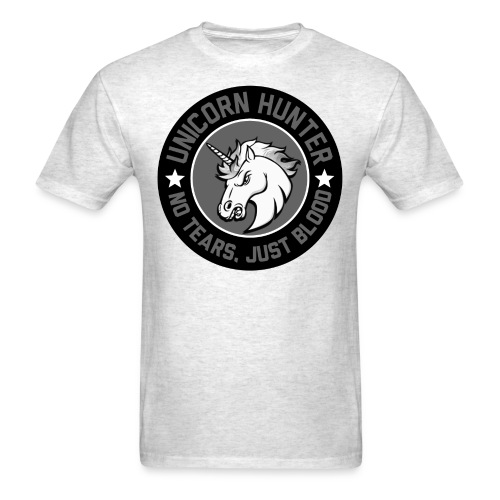 Men Unicorn Hunter - Men's T-Shirt
