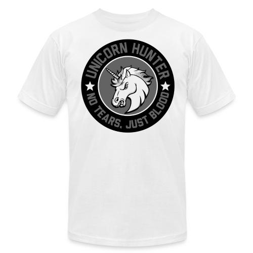 Men Unicorn Hunter - Men's Fine Jersey T-Shirt