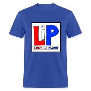 LostInPlace Logo V2 - Men's T-Shirt