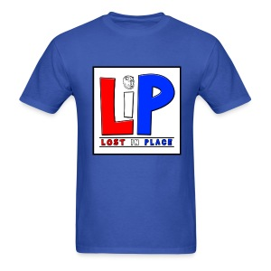 LostInPlace Logo V2 - Men's T-Shirt