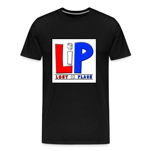 LostInPlace Logo V2 - Men's Premium T-Shirt