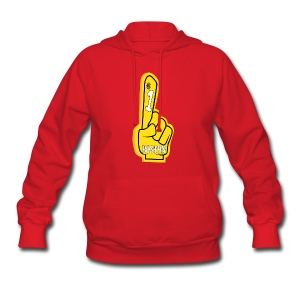 Boston B Foam Finger - Women's Hoodie