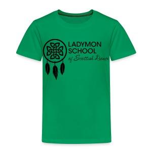 Toddler Ladymon Logo Shirt - Toddler Premium T-Shirt