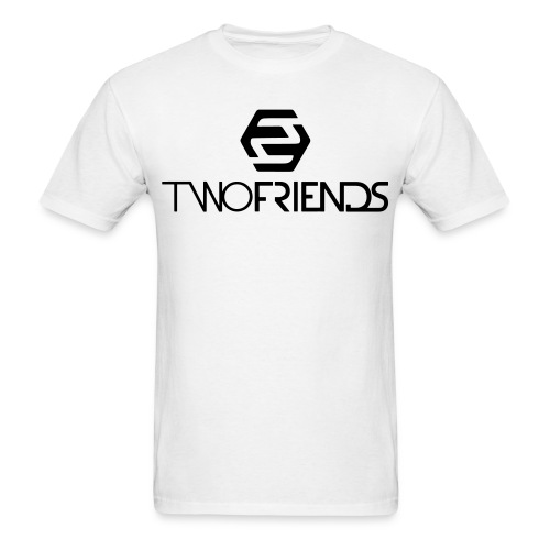 2F | White Men T-Shirt - Men's T-Shirt
