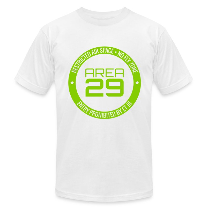 Slim Fit Area 29: No Fly Zone - Men's Fine Jersey T-Shirt