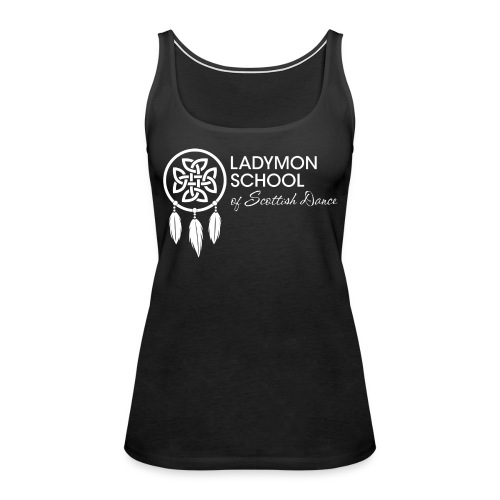 Women's Ladymon White Logo Tank - Women's Premium Tank Top