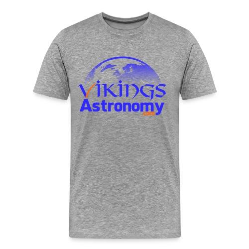 Vikings Astronomy Tshirt - Men's Premium T-Shirt