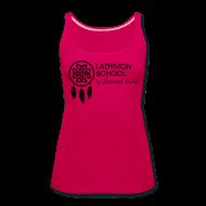 Tanks ~ Women's Premium Tank Top ~ Women's Ladymon Logo Tank