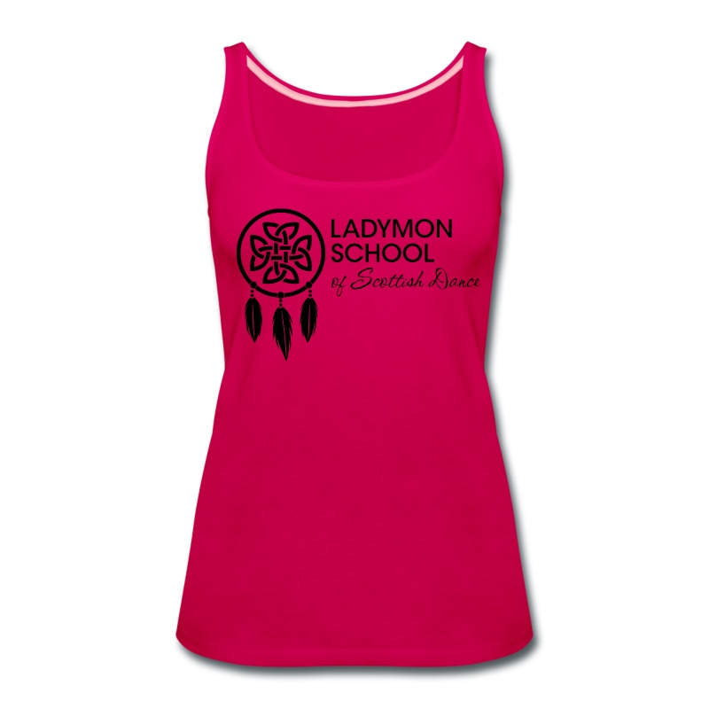 Women's Ladymon Logo Tank - Women's Premium Tank Top