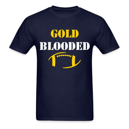 GOLD BLOODED - Men's T-Shirt