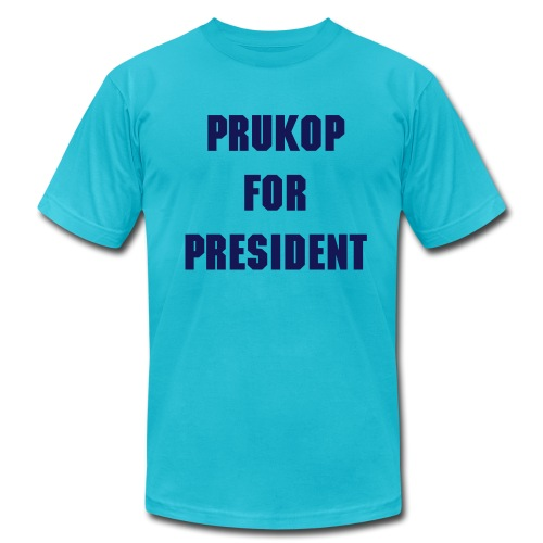 PRUKOP FOR PRES - Men's  Jersey T-Shirt
