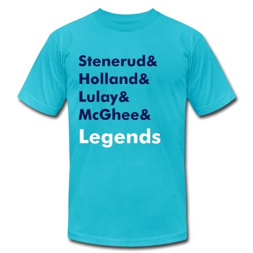 LEGENDS GOLD - Men's Fine Jersey T-Shirt
