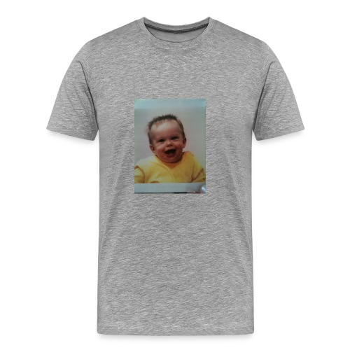 baby print T shirt - Men's Premium T-Shirt