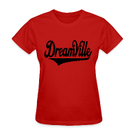 Women's T-Shirts ~ Women's T-Shirt ~ Dreamville (Black / Womens T-Shirt)