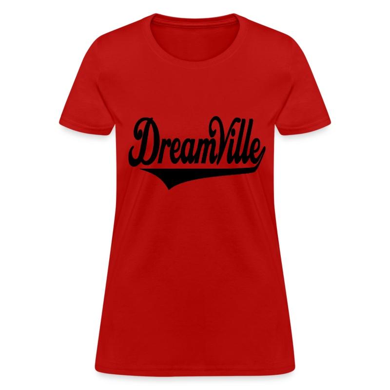 Dreamville (Black / Womens T-Shirt) - Women's T-Shirt