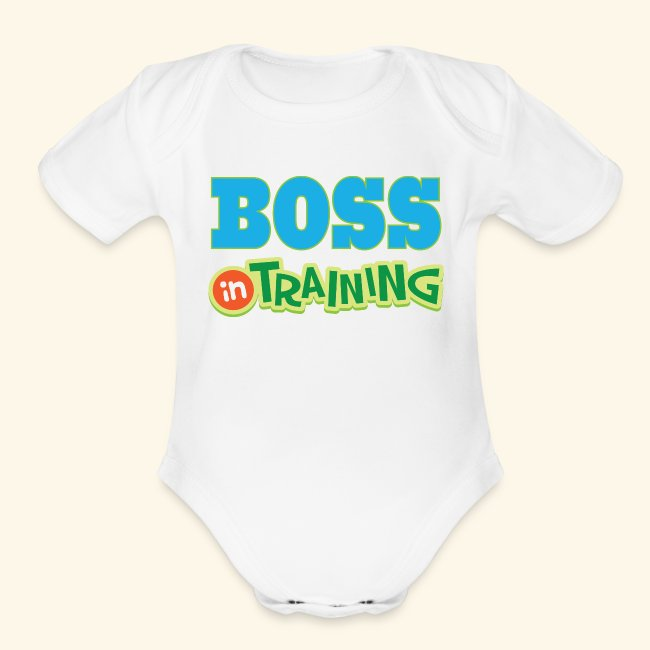 532a17b9d Homewise Per Future Boss In Training Baby T Shirt Organic