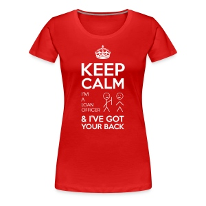 Keep Calm Loan Premium - Women's Premium T-Shirt
