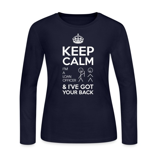 Keep Calm Loan Jersey - Women's Long Sleeve Jersey T-Shirt