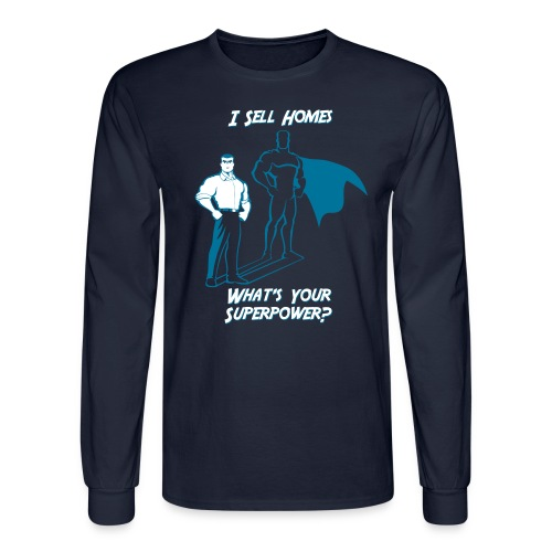 Superpower Male Long Sleeve - Men's Long Sleeve T-Shirt