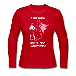 Superpower Female Jersey - Women's Long Sleeve Jersey T-Shirt