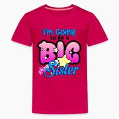 im_going_to_be_a_big_sister Kids' Shirts