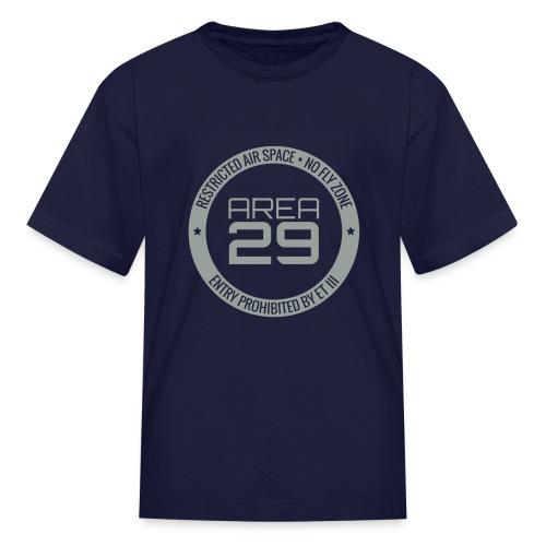 Kids Area 29: No Fly Zone - Kids' T-Shirt