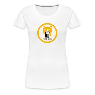 T-Shirts ~ Women's Premium T-Shirt ~ Cats and Beer