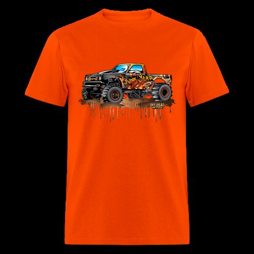 Junk Yard Diva Mud Truck - Men's T-Shirt