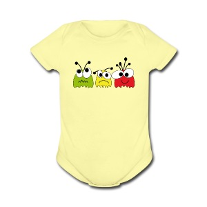 Cuties - Short Sleeve Baby Bodysuit