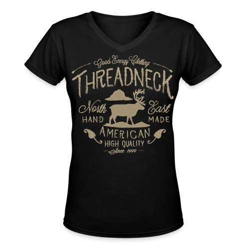 Women's Hand Made Shirt - Women's V-Neck T-Shirt