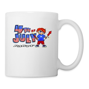 4th Of July Party Ceramic Coffee Mug - Coffee/Tea Mug