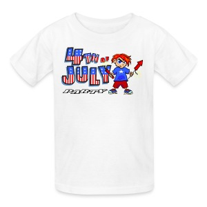 4th Of July Party T-Shirt For Kids - Kids' T-Shirt