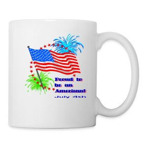 Proud To Be An American Coffee And Tea Mug - Coffee/Tea Mug