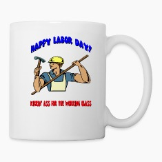Happy Labor Day Bottles & Mugs