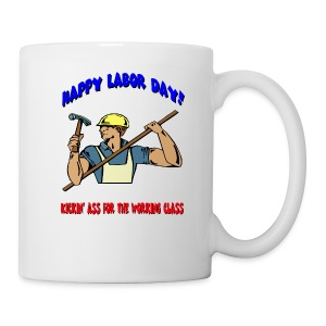 Happy Labor Day Coffee Mug - Coffee/Tea Mug
