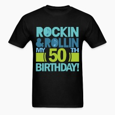 50th Birthday Rock & Roll T-Shirts