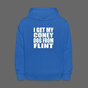 I Get My Coney Dog Fro Flint - Kids' Hoodie