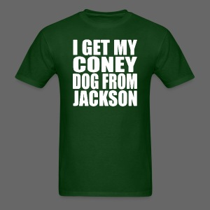 I Get My Coney Dog From Jackson - Men's T-Shirt