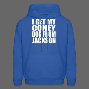 I Get My Coney Dog From Jackson - Men's Hoodie