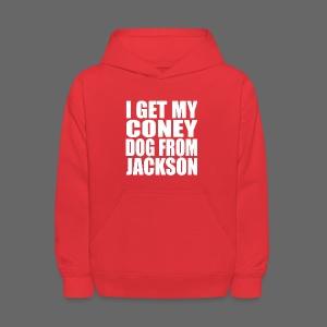 I Get My Coney Dog From Jackson - Kids' Hoodie