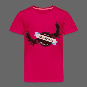 Isle Royale - Toddler Premium T-Shirt