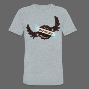 Isle Royale - Unisex Tri-Blend T-Shirt by American Apparel