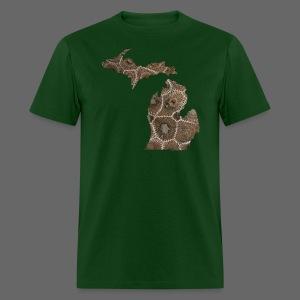 Michigan Stone - Men's T-Shirt