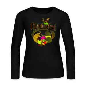 Oktoberfest Long Sleeve Jersey T-Shirt For Women - Women's Long Sleeve Jersey T-Shirt